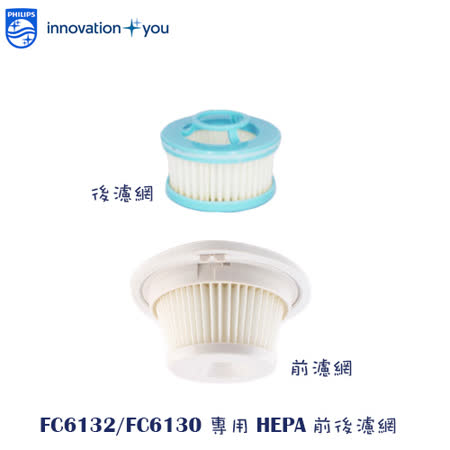 ◆PHILIPS◆飛利浦 吸塵器專用HEPA濾網~適用FC6132/FC6130