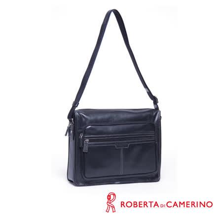 【開箱心得分享】gohappy快樂購Roberta di Camerino 全皮橫式側背包 020R-825-01評價怎樣愛 買 會員 卡
