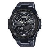 【CASIO 卡西歐】G-STEEL系列 大理石色時尚運動防震腕錶(52.4mm/GST-210M-1A)