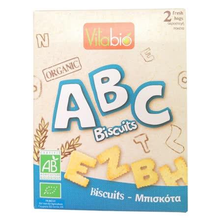 法國Babybio 有機ABC字母全麥餅乾150gX2