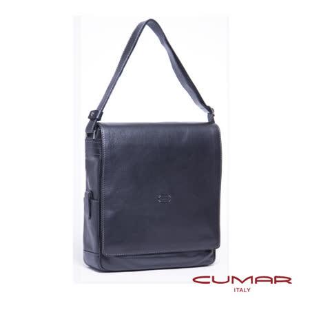 CUMAR 義大利原裝進口-直立側背包-附電腦保護套 0296-C41-01