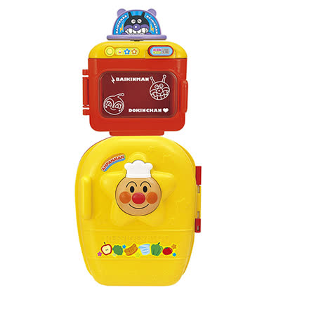 《 麵包超人 》ANP 冰箱+微波爐玩具
