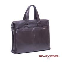 CUMAR 全皮直立手提/側背兩用包 0296-D25-02