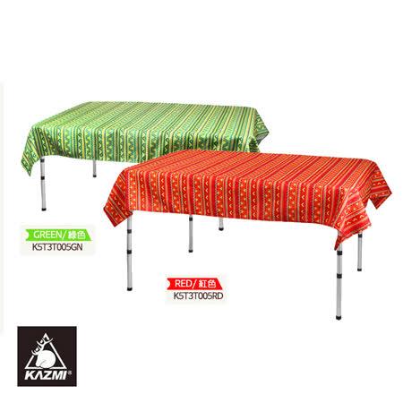 KAZMI 民族風防水桌巾K5T3T005GN/城市綠洲(戶外、露營、桌巾、野餐、民族風)