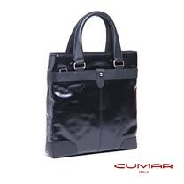 CUMAR 義大利全皮手提/工作包 0296-D85-01