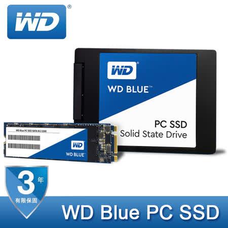 WD Blue PC SSD 500GB M.2 2280 (SATA Mode) SSD 固態硬碟 WDS500G1B0B / 公司貨
