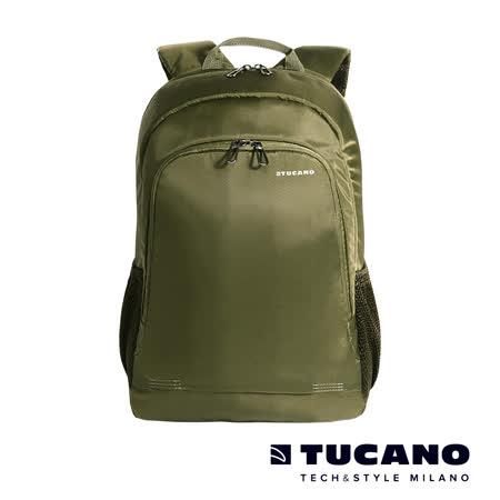 TUCANO FORTE 15.6吋行動商務後背包- 綠