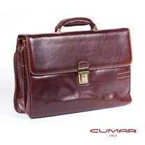 CUMAR 義大利原裝進口公事包(單插扣附鑰匙) 0296-A4102