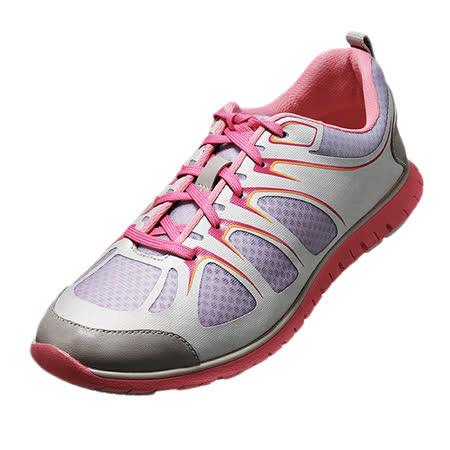 【Kimo德國手工氣墊鞋】糖糖果撞色繽紛戶外休閒鞋(配色灰K16SF081012)