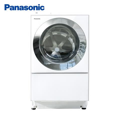Panasonic國際 10.5kg日製變頻洗脫烘滾筒洗衣機 NA-D106X1WTW