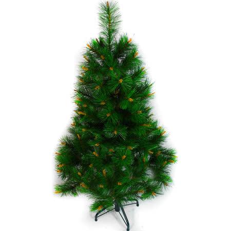 台灣製 4呎/4尺(120cm)特級綠松針葉聖誕樹裸樹 (不含飾品)(不含燈))