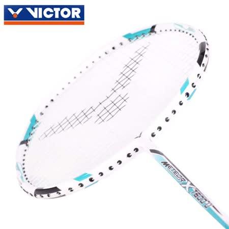 VICTOR 尖鋒球拍-4U -羽毛球拍 穿線拍 勝利 藍綠黑 F