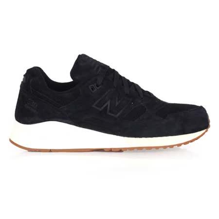 (男) NEWBALANCE 530系列 復古休閒鞋-NB N字鞋 黑米白
