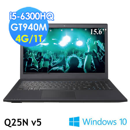 GIGABYTE技嘉 Q25Nv5 15.6吋 i5-6300HQ GT940M WIN10(筆電)