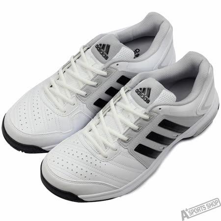 adidas 男 BARRICADE APPROACH STR 慢跑鞋 愛迪達 白 -AQ2279