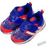 adidas 女 MARVEL SPIDER-MAN CF I 慢跑鞋 愛迪達 藍/紅 -AQ3781