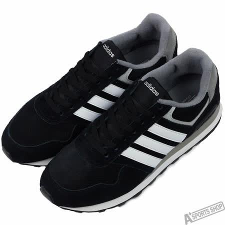 adidas 男 RUNEO 10K 慢跑鞋 愛迪達 黑 -AW4678