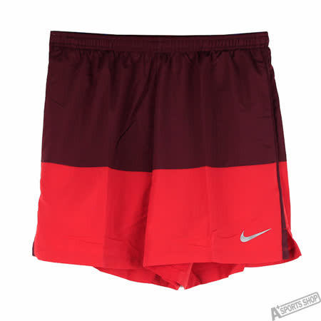 NIKE 男 AS 5 DISTANCE SHORT SP15 運動短褲 紅 -642805687