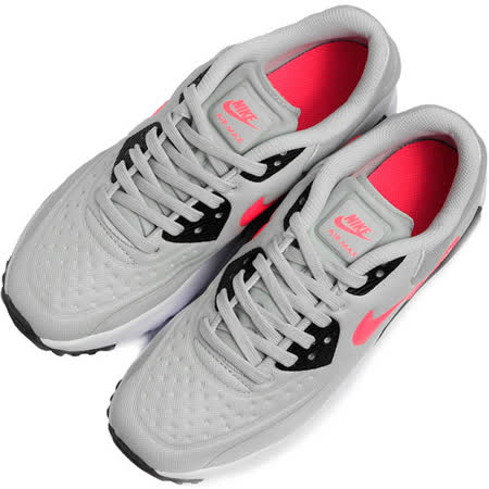 NIKE 女 AIR MAX 90 ULTRA SE (GS) 休閒鞋 灰 844600005