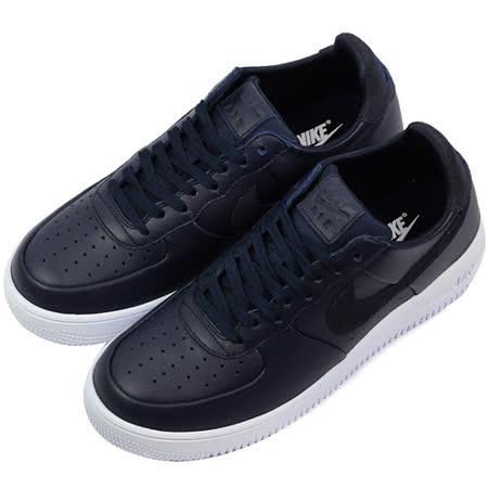 NIKE 男 AIR FORCE 1 ULTRAFORCE LTHR 休閒鞋 黑 845052401