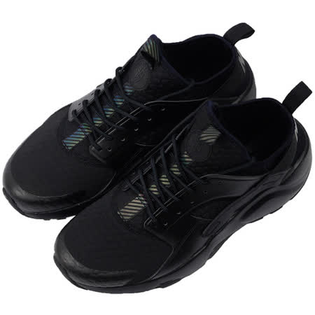 NIKE 男 AIR HUARACHE RUN ULTRA SE PREM 休閒鞋 黑 857909002