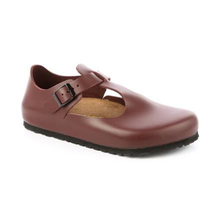 勃肯BIRKENSTOCK 065141。PARIS巴黎 經典包鞋(棗紅)