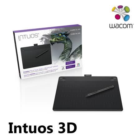 Wacom Intuos 3D 創意觸控繪圖板 Medium (黑) CTH-690/K3-C