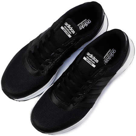 ADIDAS 男 CLOUDFOAM SATURN 休閒鞋 黑白 AW5311