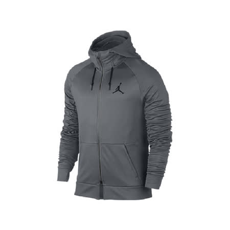 NIKE 男 AS 360 FLEECE FZ HOODIE 運動外套 灰 808695065