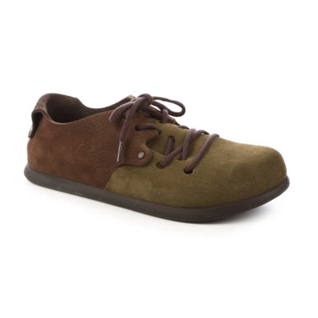 勃肯BIRKENSTOCK 199363。MONTANA蒙大拿 經典包鞋(咖啡棕綠)