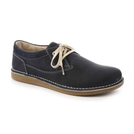 勃肯BIRKENSTOCK 406531。MEMPHIS曼非斯 休閒鞋(深藍)