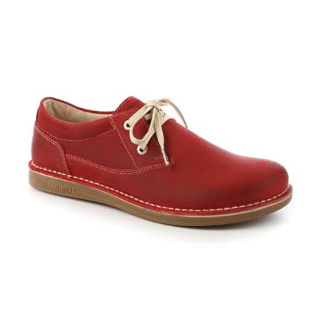 勃肯BIRKENSTOCK 406541。MEMPHIS曼非斯 休閒鞋(暗紅)