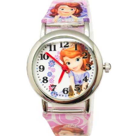 【迪士尼】小公主蘇菲亞兒童錶(金) S-17