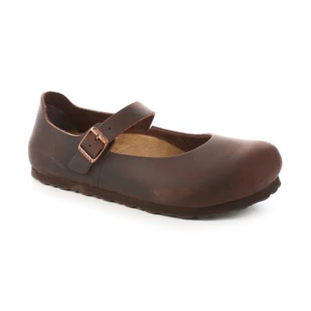 勃肯BIRKENSTOCK 622153。MANTOVA曼切華 包鞋(深褐)