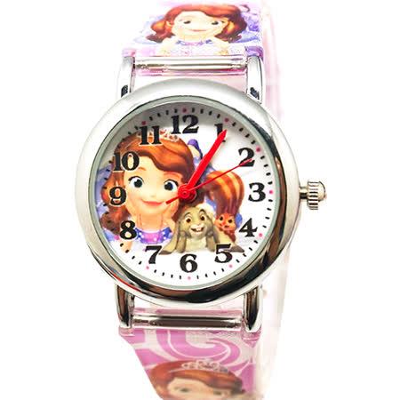 【迪士尼】小公主蘇菲亞兒童錶(金) S-20
