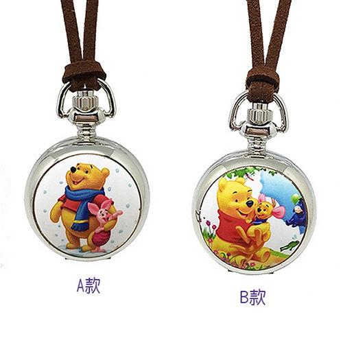 【迪士尼】小熊維尼小懷錶隨身好夥伴(2款任選)
