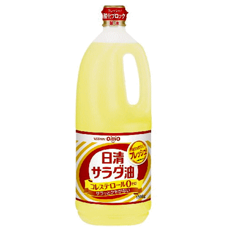 日本日清 沙拉油1.5L*10瓶優惠組
