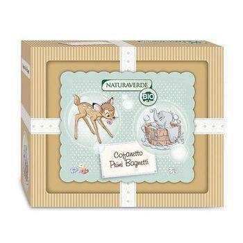 義大利原裝進口Disney 經典Dumbo&Bambi寶貝沐浴禮盒 禮盒
