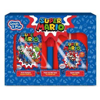 義大利原裝進口Super Mario 沐浴 禮盒