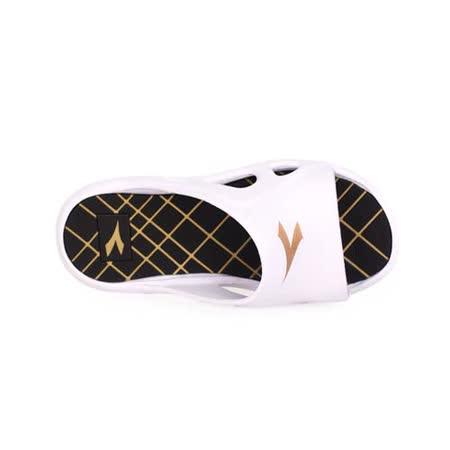 (男) DIADORA 拖鞋-游泳 戲水 休閒 海邊 海灘 沙灘 白黑金