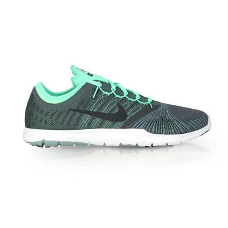 (女) NIKE WMNS FLEX ADAPT TR 訓練鞋-慢跑 路跑 健身 淺綠灰