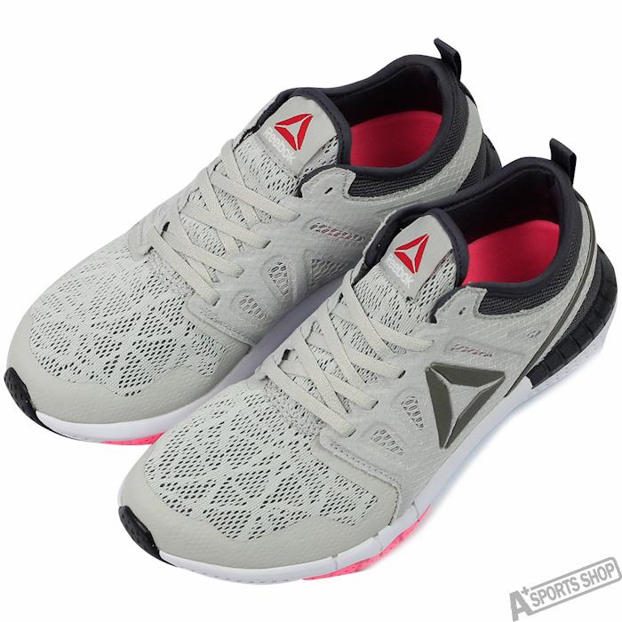 Reebok 女 REEBOK ZPRINT 3D EX 慢跑鞋 灰 -AR2926