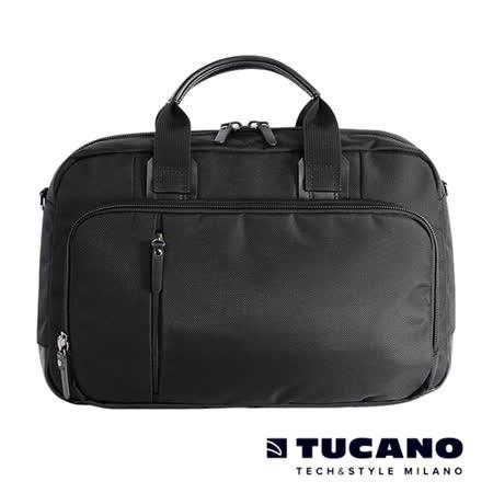 TUCANO Centro 15吋核心商務側背包- 黑