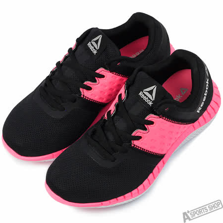 Reebok 女 ZPRINT RUN NEO 慢跑鞋 黑 -BD1194