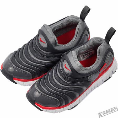 NIKE 女 NIKE DYNAMO FREE (PS) 慢跑鞋 灰 -343738010