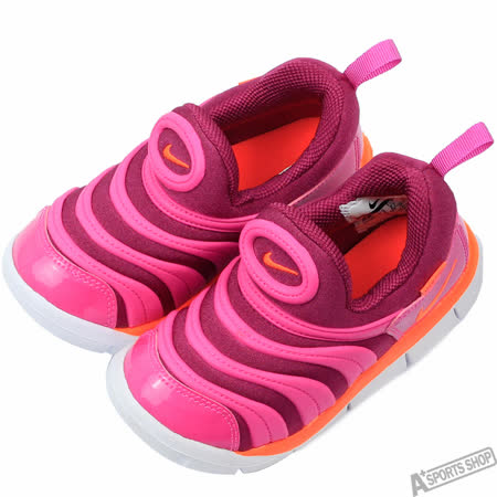 NIKE 女 NIKE DYNAMO FREE (TD) 休閒鞋 桃紅 -343938504