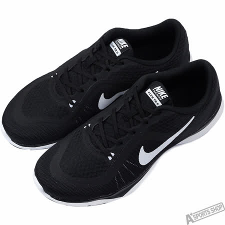 NIKE 女 WMNS NIKE FLEX TRAINER 6 慢跑鞋 黑 -831217001