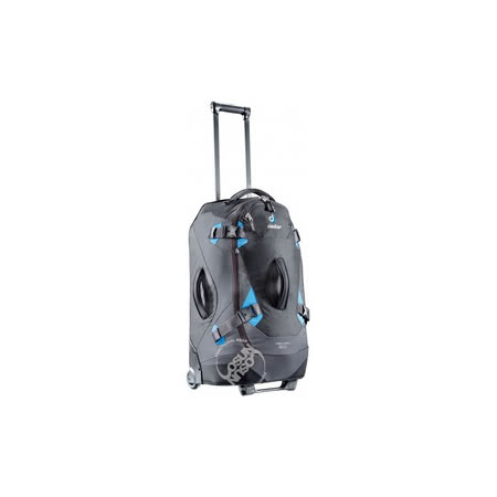 【德國 Deuter】  Helion60 60L(28吋 靜音輪)自助旅行背包 35842 黑/藍