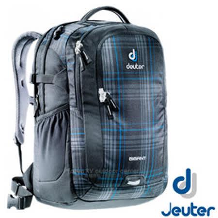 【德國 Deuter】新款 Gigant 32L 專業電腦後背包(附可拆腰帶+筆電隔間) 80424 藍格