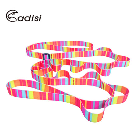 ADISI 彩虹日型調整掛物繩帶AS15074 / 城市綠洲(多功能掛勾、掛繩、曬衣繩、露營用品)